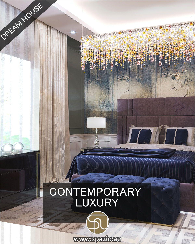 Contemporary house bedroom design videos by Spazio Interior