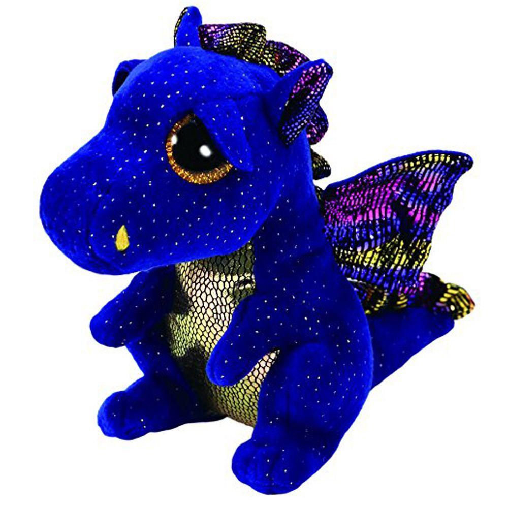 "Pyoopeo Ty Beanie Boos 6/"" 15cm Cinder The Green Dragon Plush Regular Stuffed"