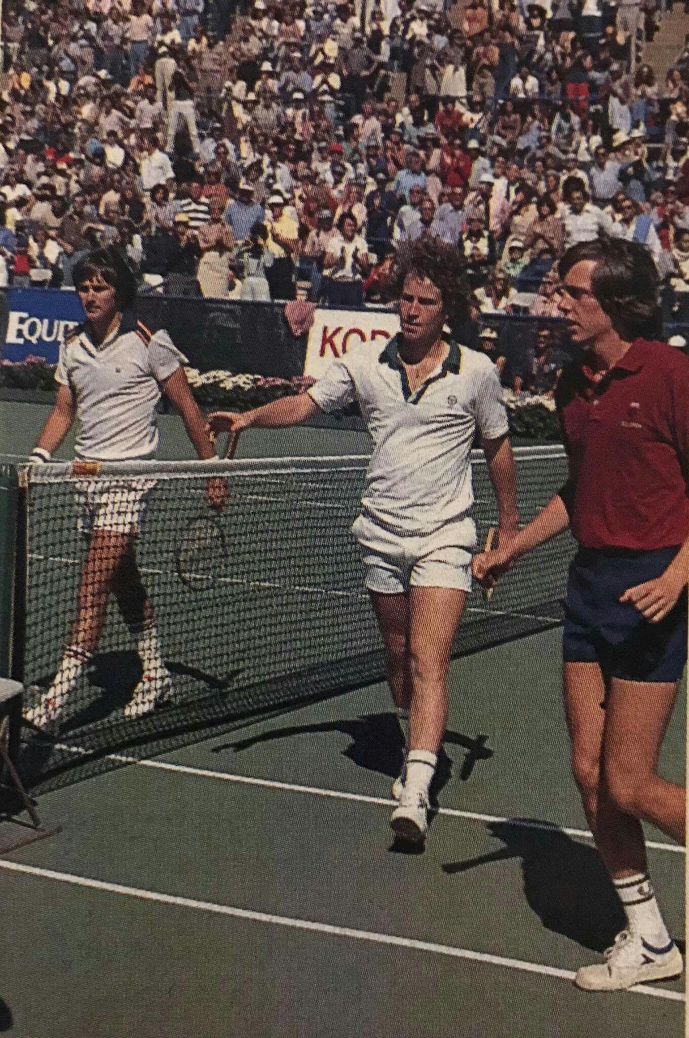 brand new cc6dd 3d7de John McEnroe VS Jimmy Connors - US Open 1978