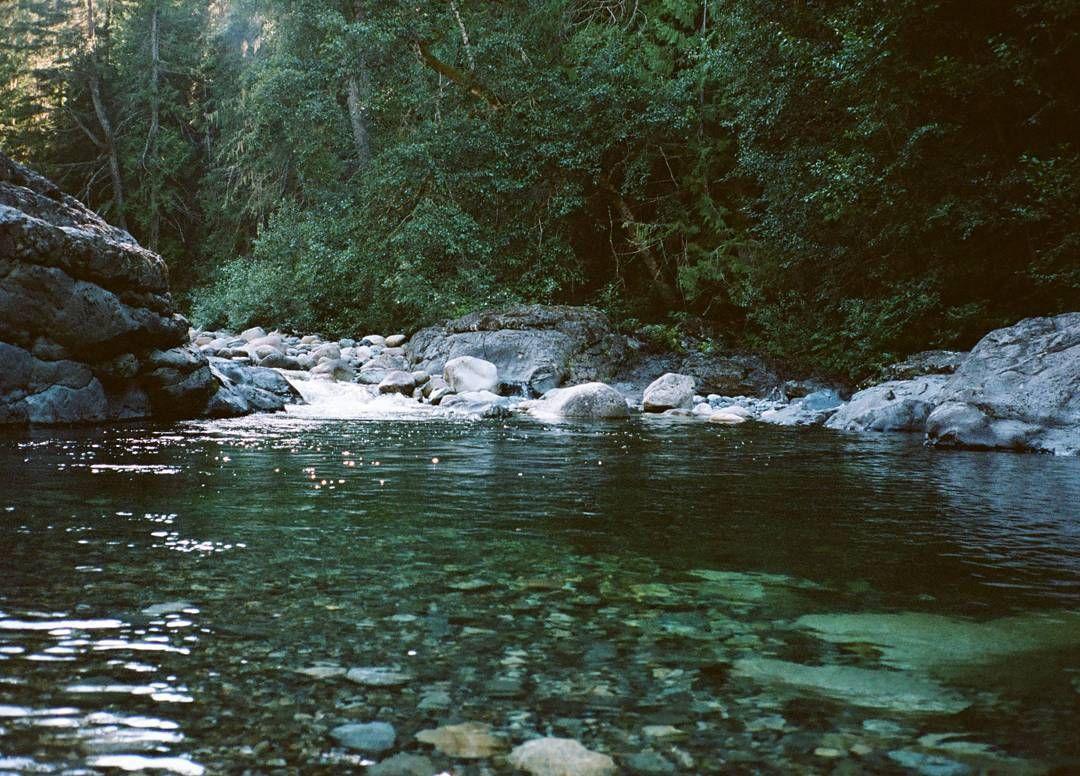 Englishman River Falls Provincial Park photo via @lostjacelyn on Instagram: Emerald rivers are divine.