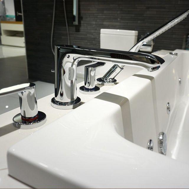 Hansgrohe Metris 4 Hole Bath Shower Mixer Set | Hansgrohe ...