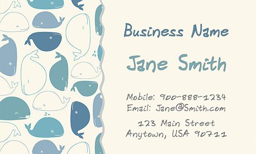 Cute Babysitting Business Card Template From Www Printifycards Com Printifycards Business Card Design Teacher Business Cards Babysitting