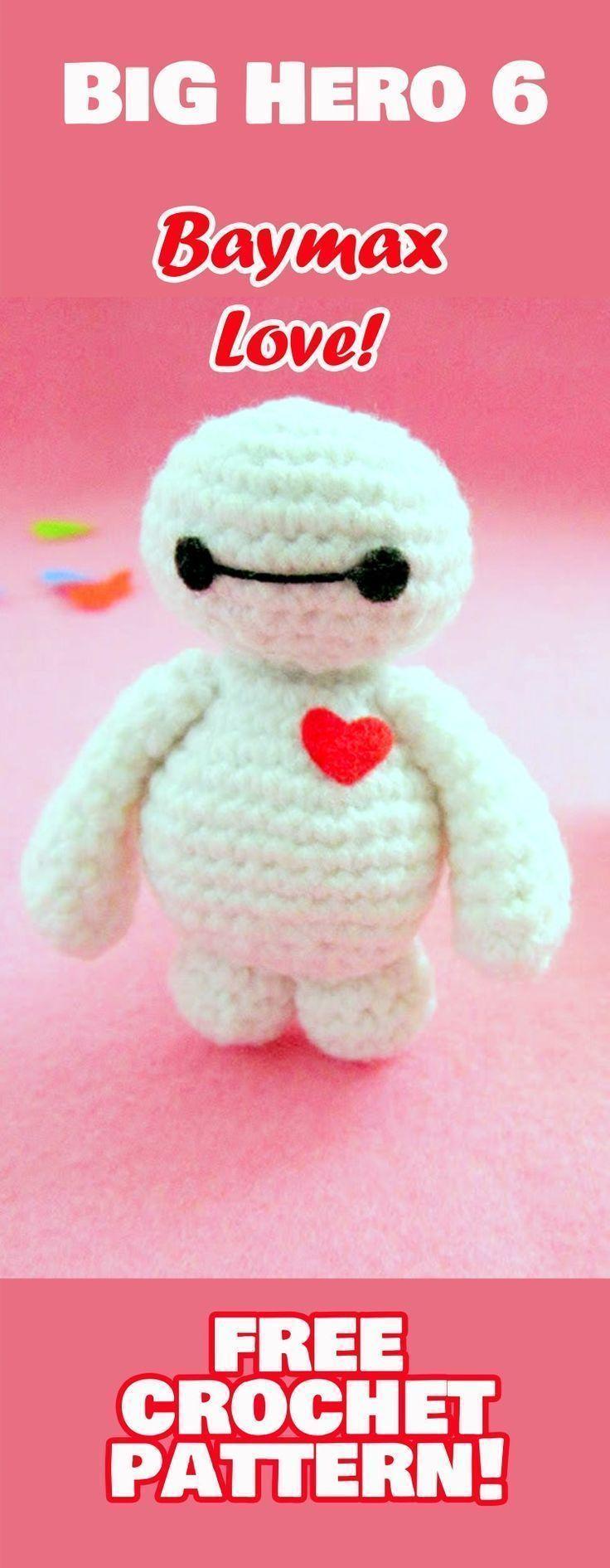 Free Valentine\'s Creatures Crochet Patterns, Amigurumi Valentine ...