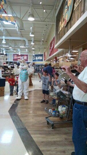 Chicken Dance During The Easter Egg Hunt Jacksonville Nc Lowes