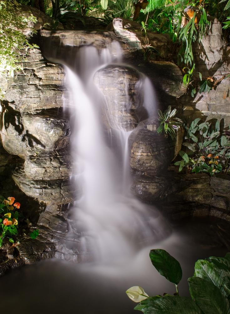 Opryland S Indoor Falls By Wayne V Hall Wall Photography And