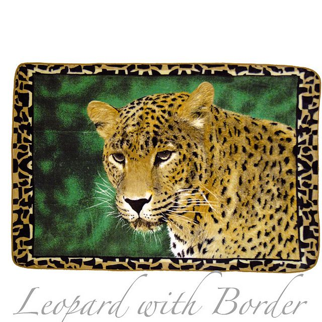 Throw - Leopard Print Animal Blanket