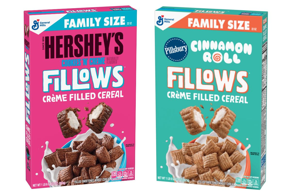 General Mills lance Fillows New cereal, Cinnamon toast