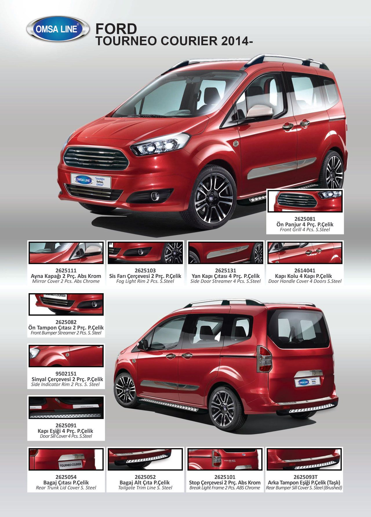 Ford tourneo courier pictures to pin on pinterest - Ford Courier Aksesuarlar
