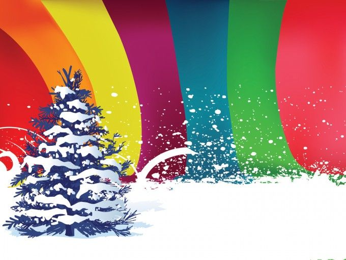colorful happy new year 2013 powerpoint backgrounds for, Presentation templates
