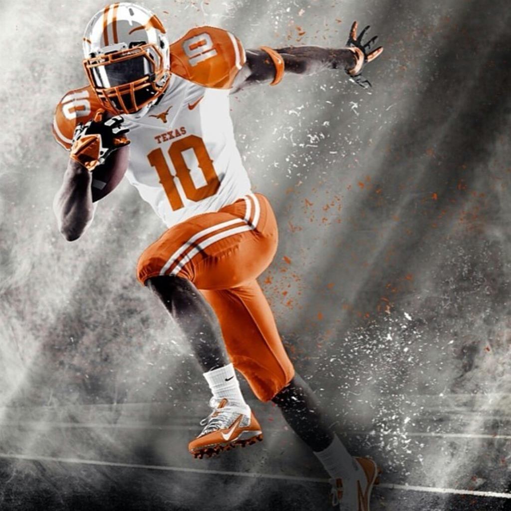 Caleb Bluiett Texas Longhorns Football Jersey - Orange