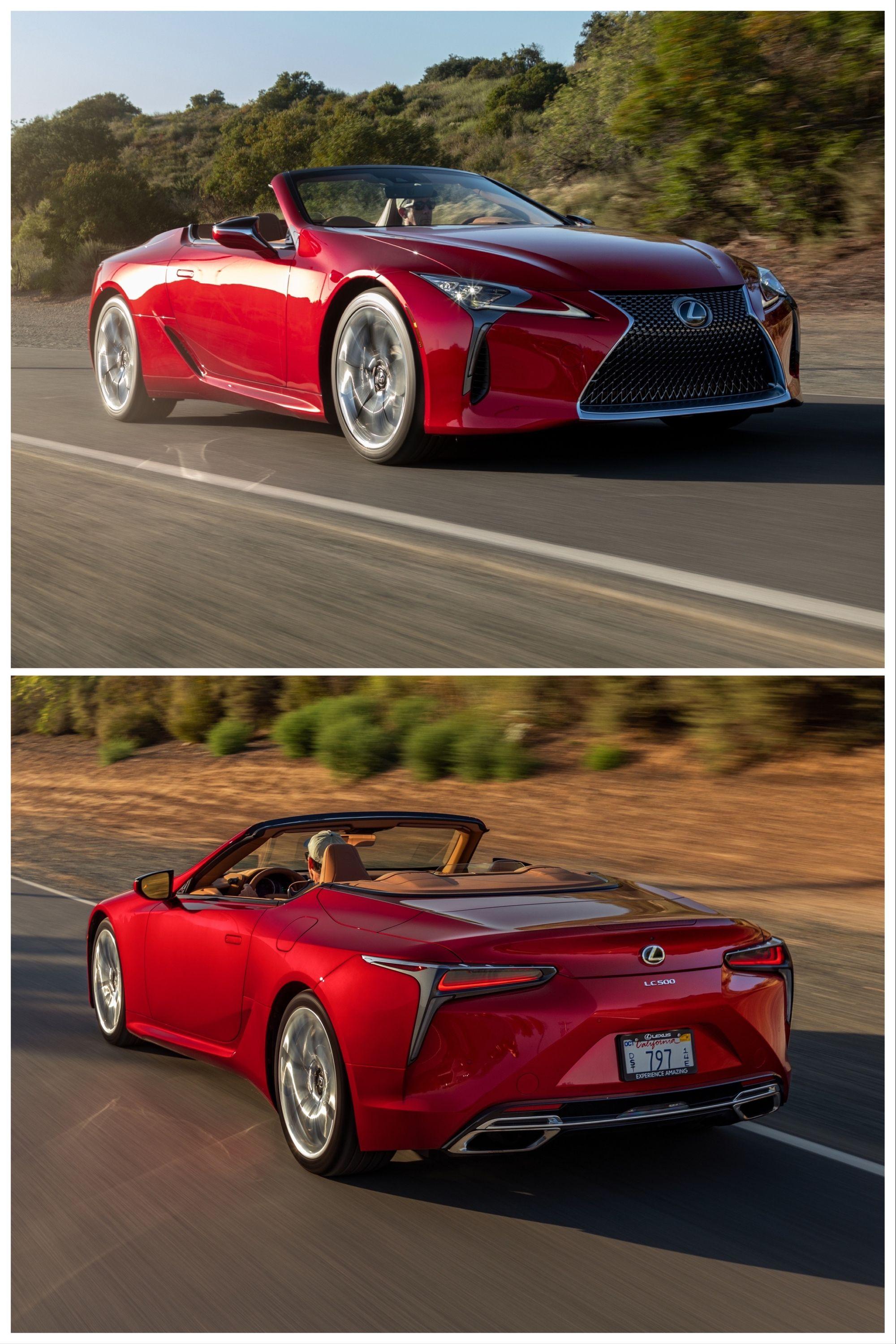 2021 Lexus Lc500 Convertible First Test Drive In 2020 Lexus Lc Lexus Convertible
