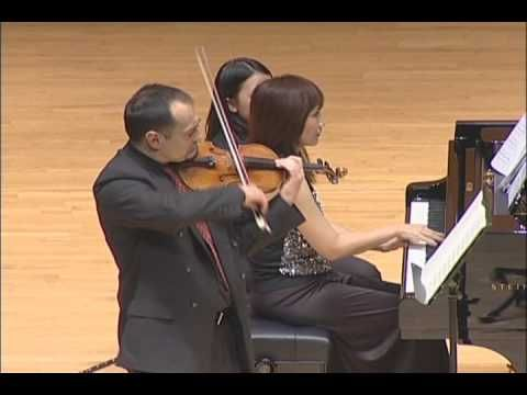 Antonin Dvořák Four Romantic Pieces for violin and piano, Op 75 No 1  Misa Stefanovic violin, Moli Chiang piano