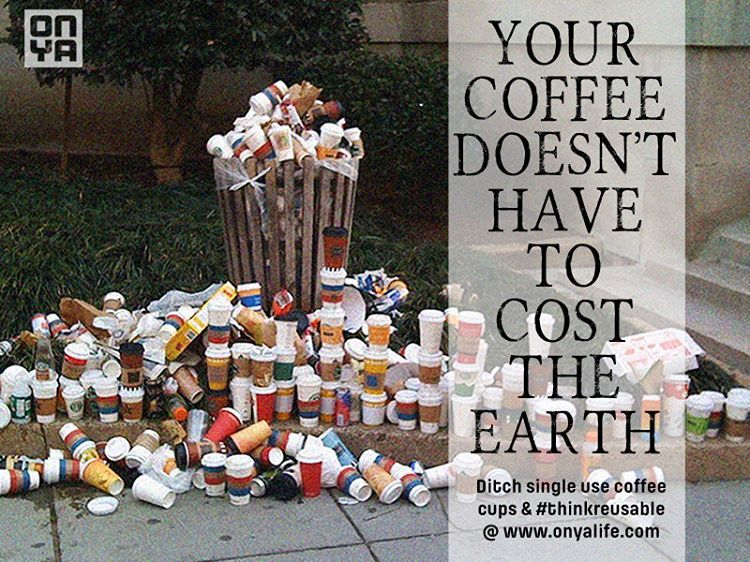 how to eradicate single use coffee cups