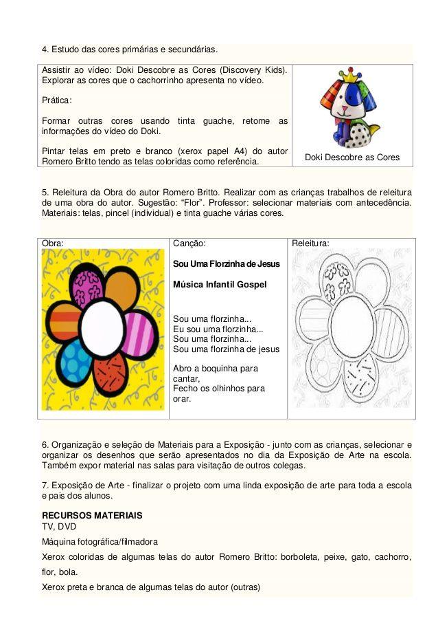 Atividade 3 Projeto De Artes Simone Helen Drumond Com Imagens