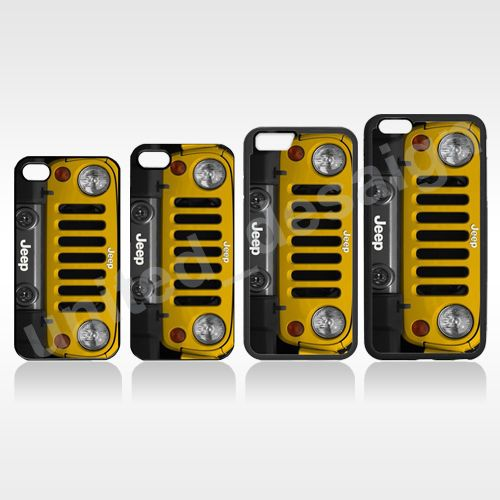 Details About Yellow Jeep Wrangler SUV Apple IPhone 5 5S 6