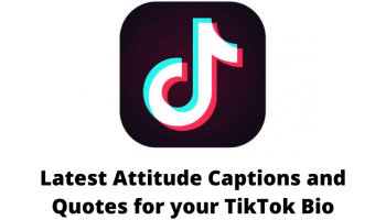 Attitudecaptions And Quotes For Your Tiktokbio Bio Quotes Be Yourself Quotes Caption For Girls