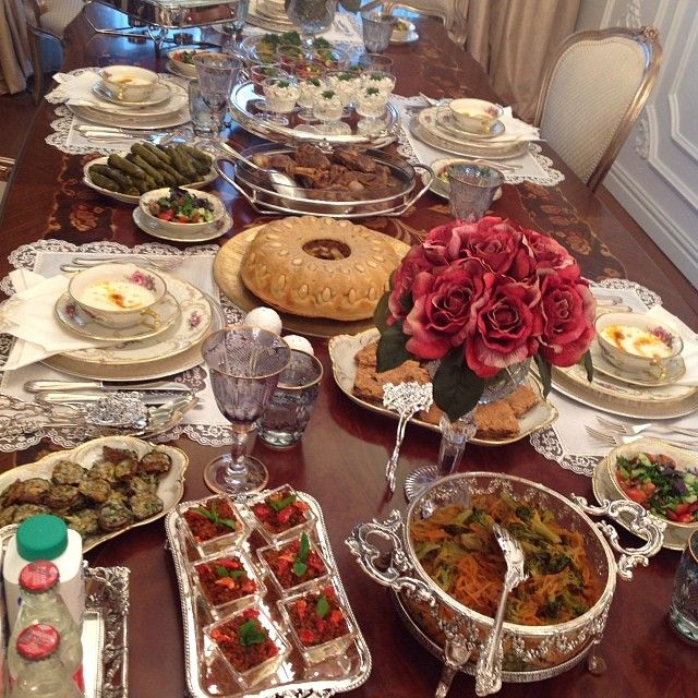 هنا صورة شامله من عشاء كوكتشي Padgram Ramadan Desserts Buffet Food Ramadan Recipes