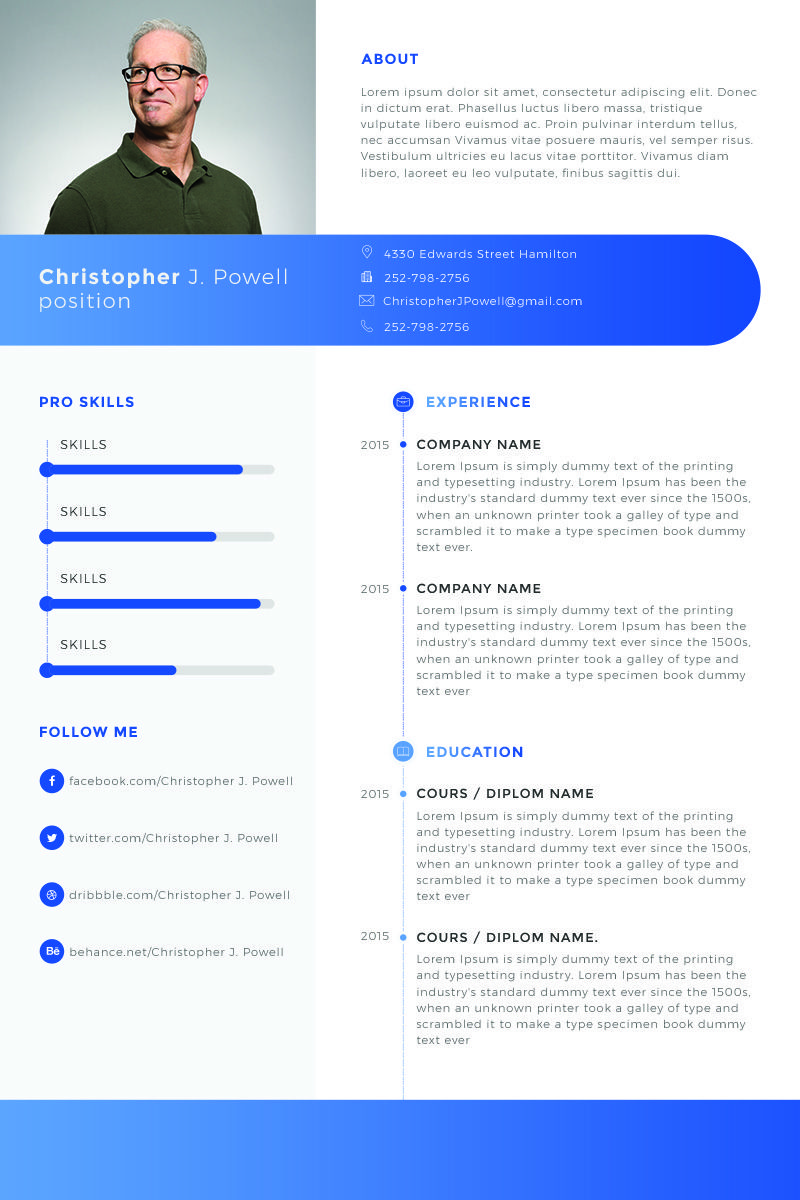 christopher powell clean resume template resume powell christopher clean jpg 800x1200 christopher name template