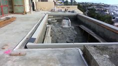 Pool Over Looking Newport Harbor Pool Construction Pool Water Features Building A Pool