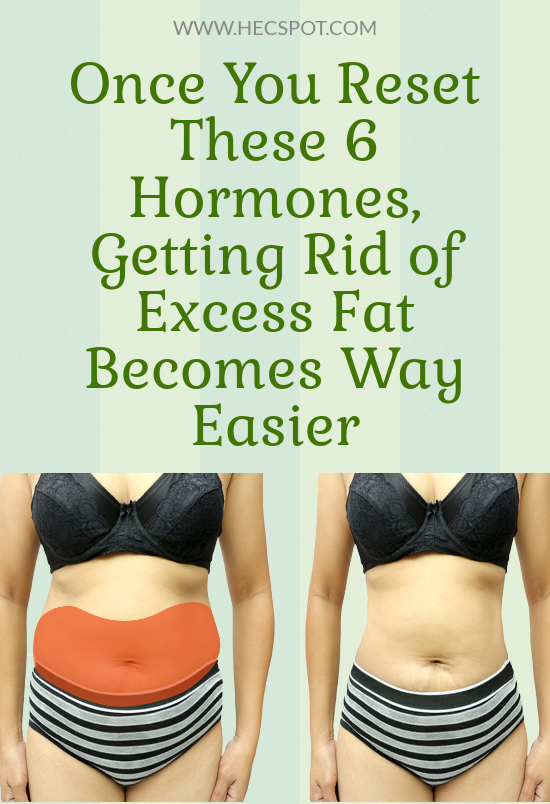 Once You Reset These 6 Hormones, Getting Rid of Ex