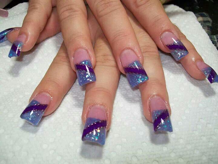 Uñas acrilica con cintas ! | Nails acrilyc | Pinterest | Cintas ...
