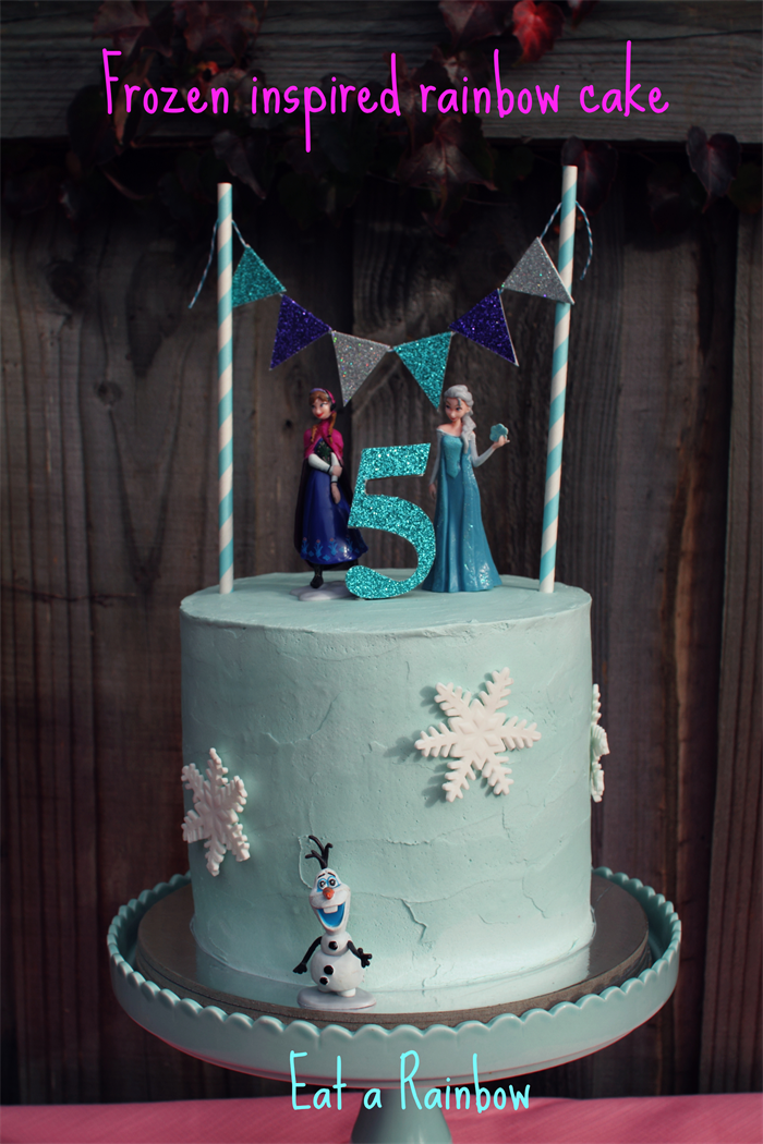 Fabulous Frozen Cake Topper Cake Bunting Set Eat A Rainbow Madeit Com Personalised Birthday Cards Paralily Jamesorg
