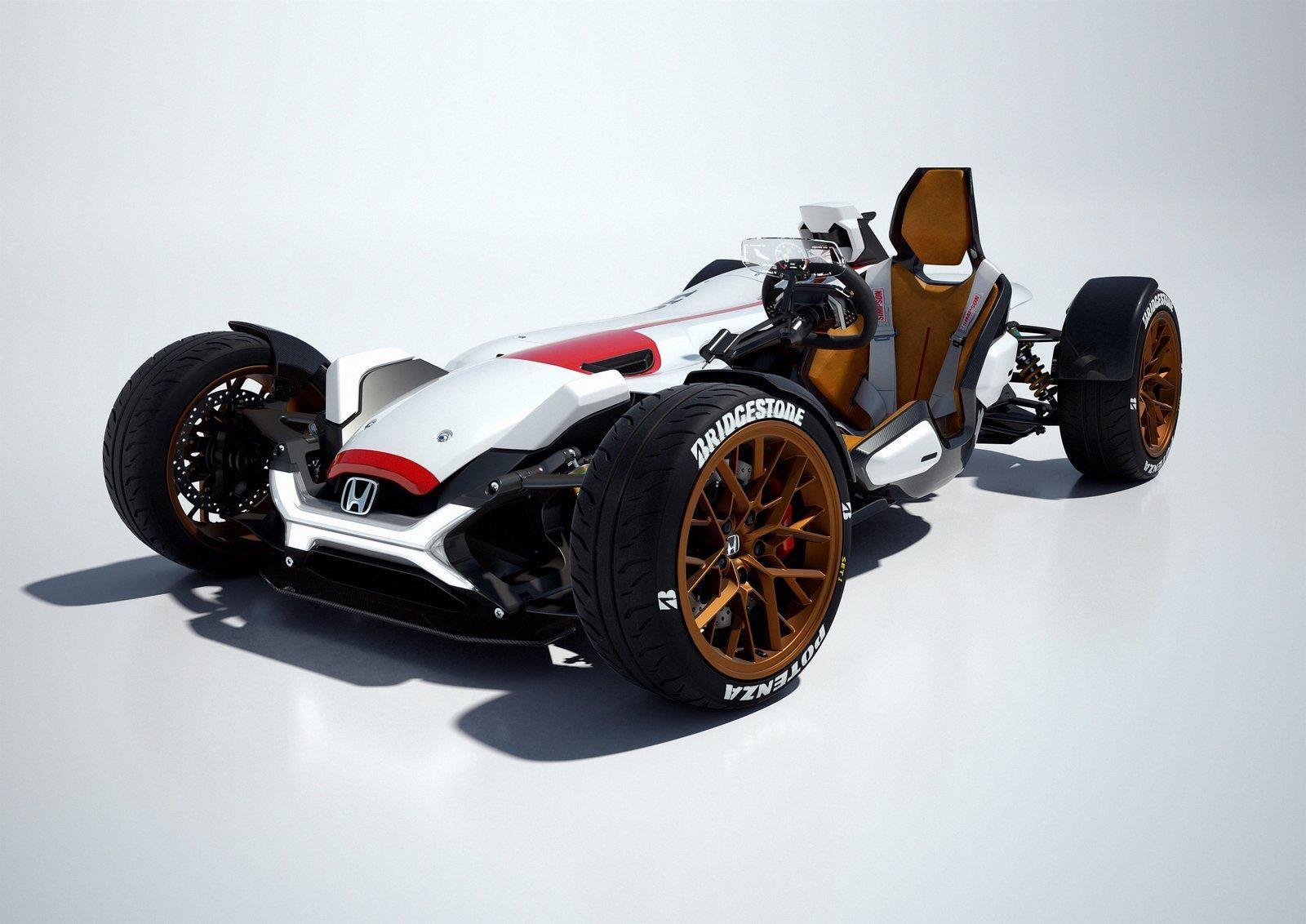 Francfort 2015 honda project 2 4 voitures honda - Voiture ariel atom ...
