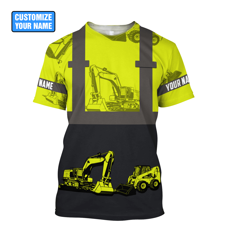 Custom Name XT Excavator Shirts DD01062101 - T-shirt / 5XL