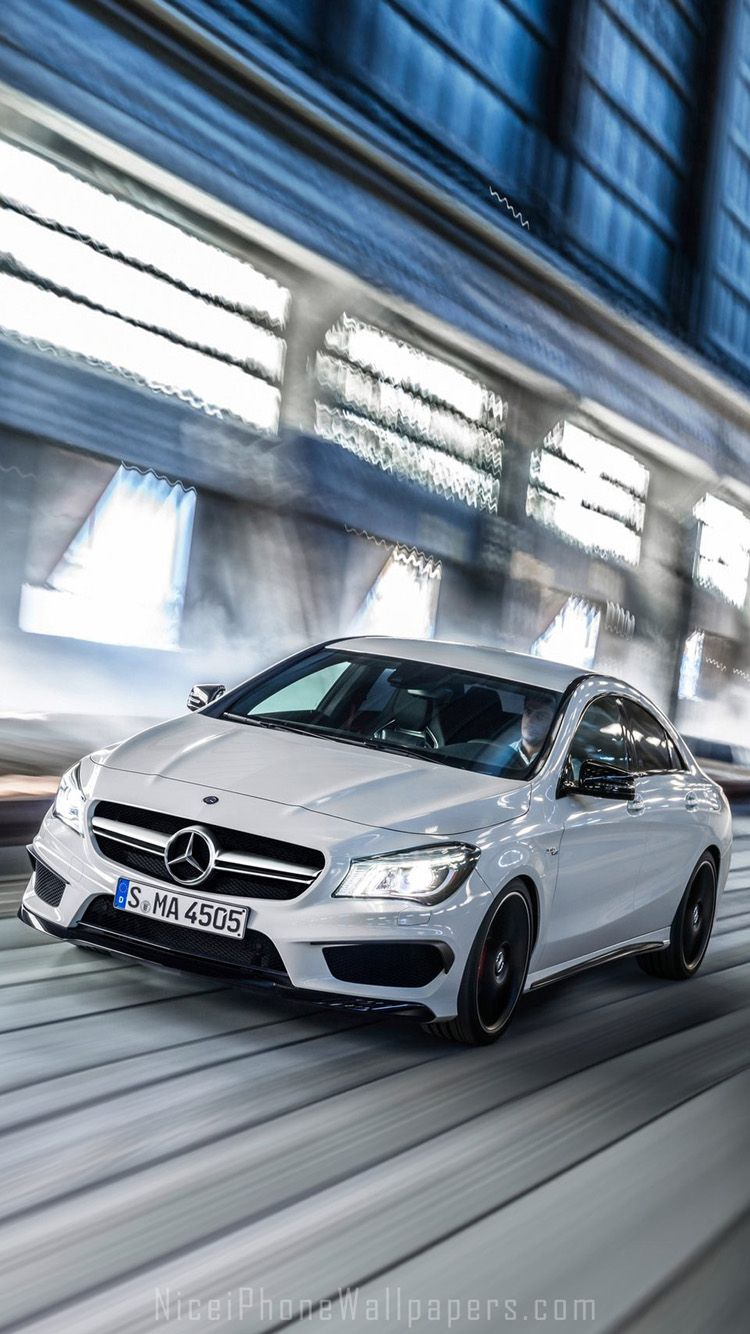 Mercedes Benz Cla45 Amg Iphone 6 6 Plus Wallpaper