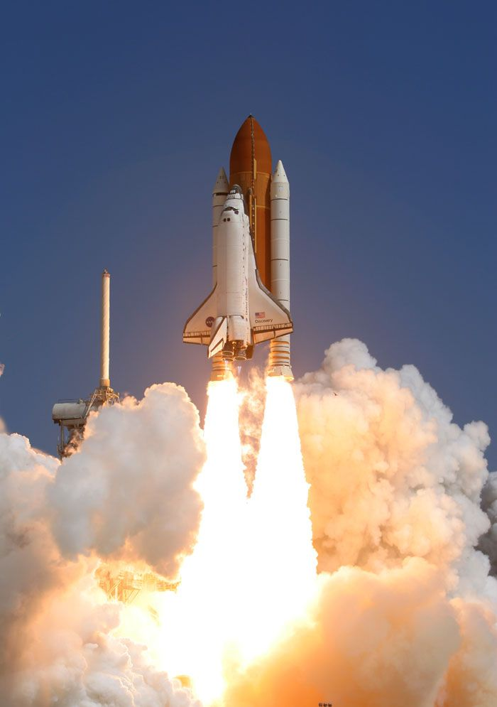 Take Off From Cape Canaveral Space Shuttle Nasa Space Shuttle