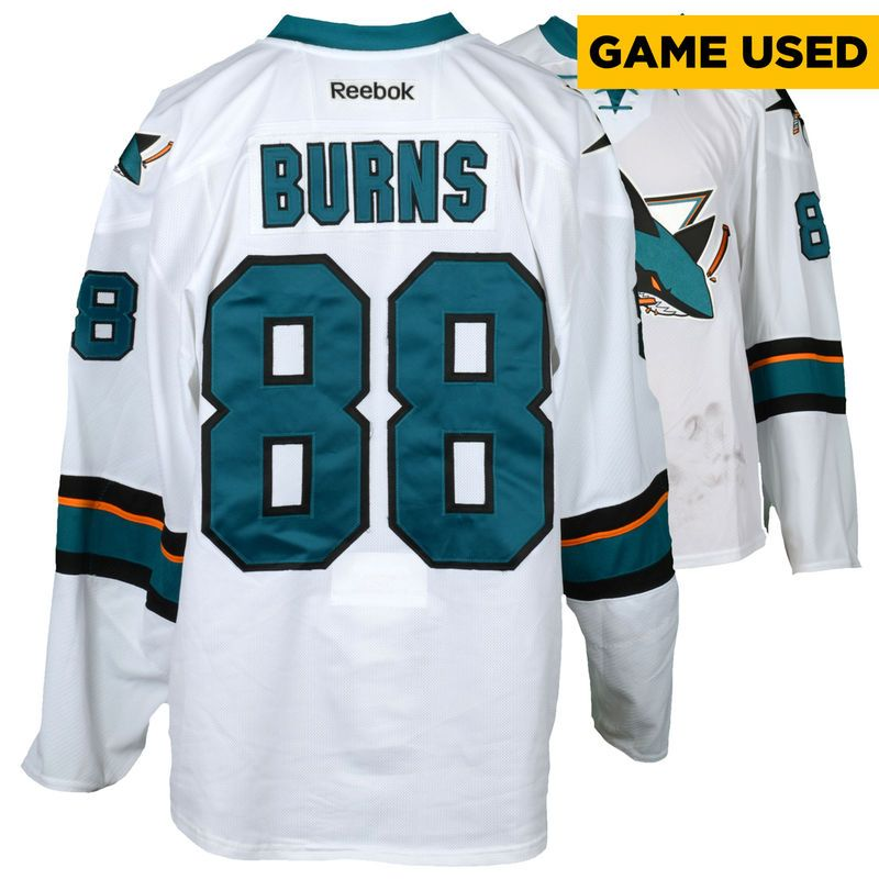 factory authentic ef63a bb04b Brent Burns San Jose Sharks Fanatics Authentic Game-Used ...