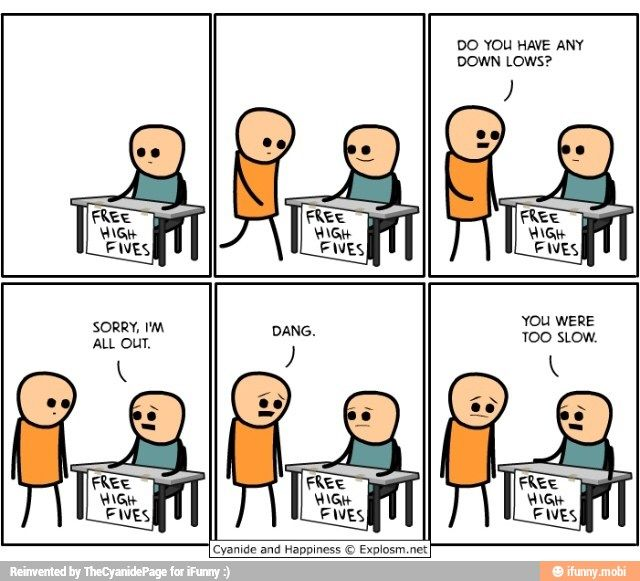 Too Slow Ifunny Cyanide And Happiness Funny Comics Funny Memes