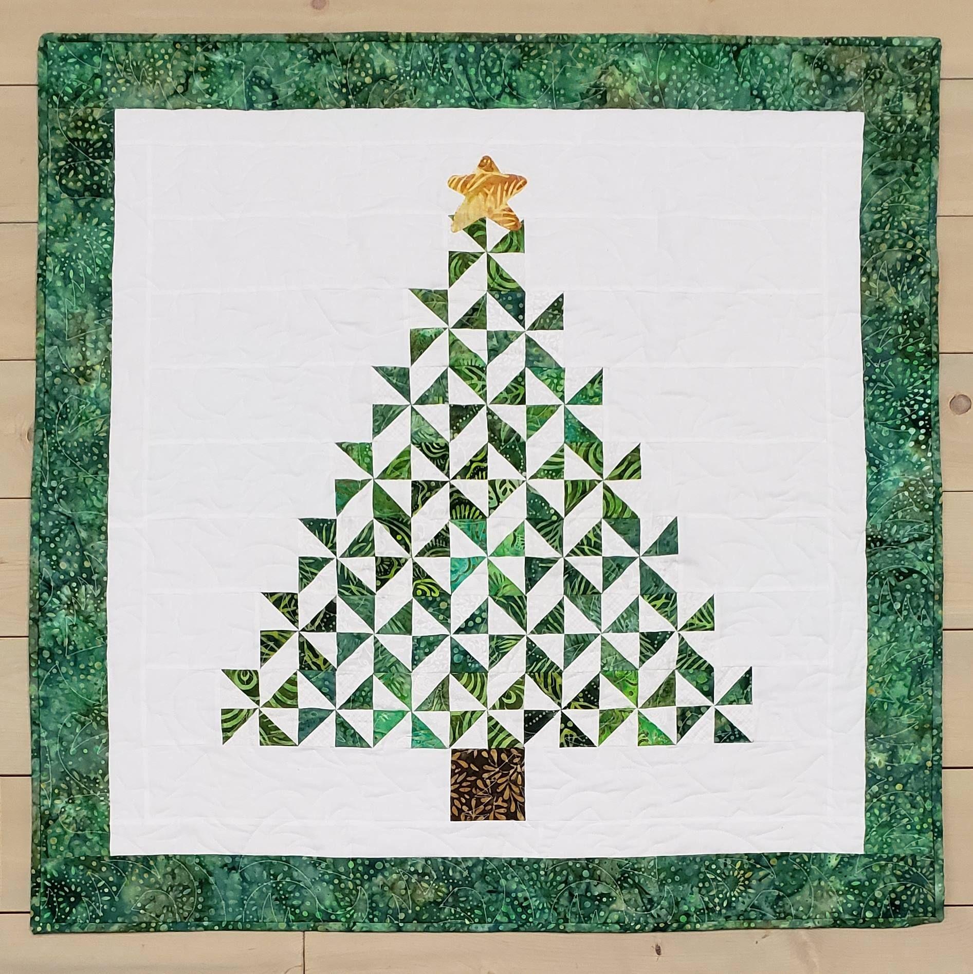 Missouri Star Quilt Video For Pinwheel Christmas Tree Wall Hanging Christmas Tree Quilted Wall Hanging Tree Quilt Pattern Missouri Star Quilt Company