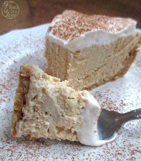 Food Photography Creamy Keto Peanut Butter Cream Cheese Pie Food Photography Creamy Keto Peanut B