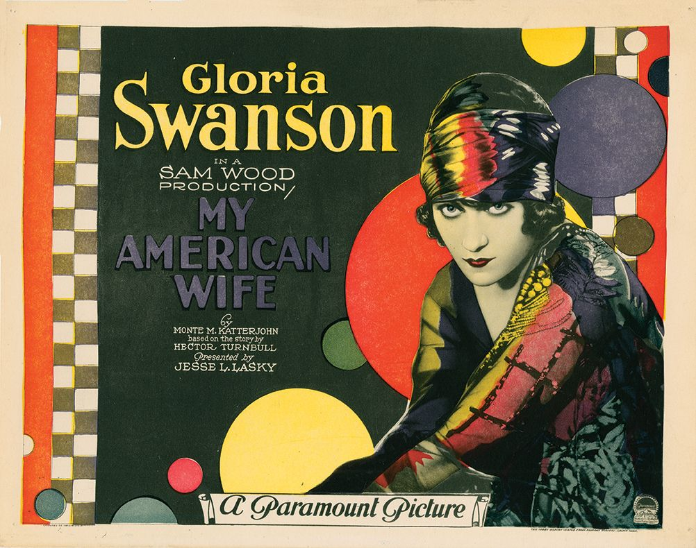My american wife 1922 us title card american wives