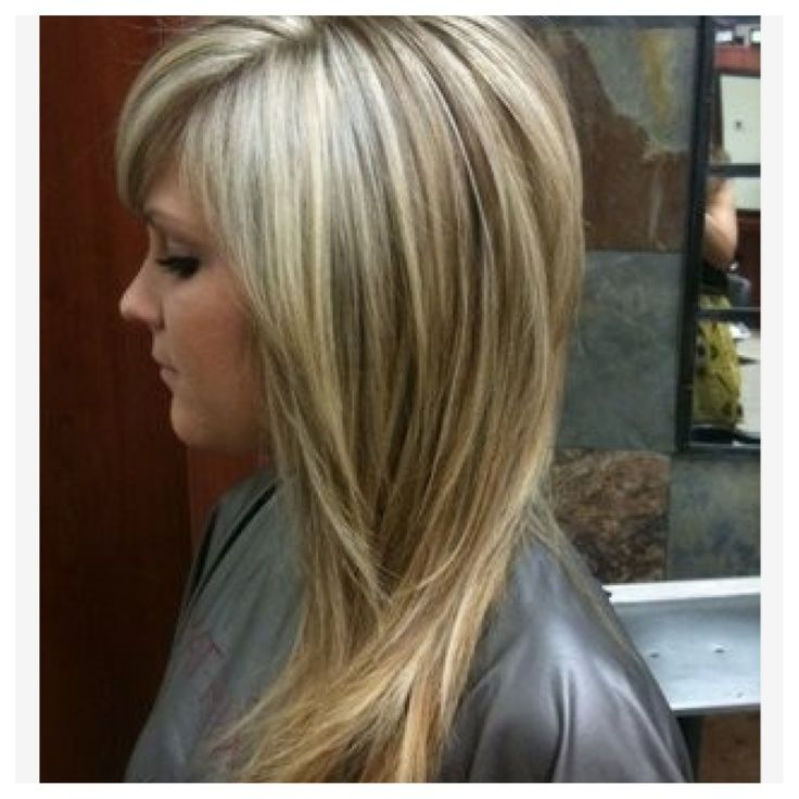 Short Layers On Top Long Layers On Bottom Google Search Hair