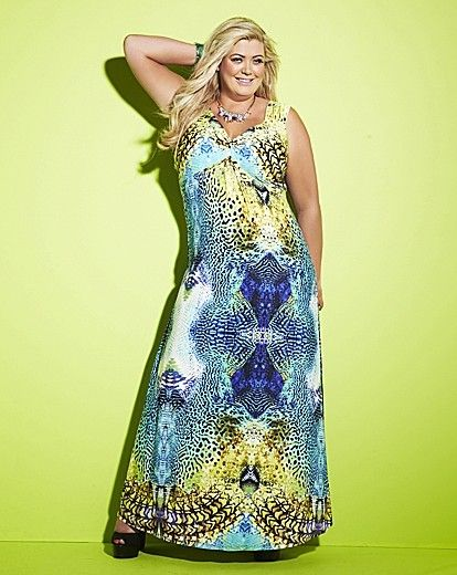 100% high quality super cute look out for Gemma Collins Blue Printed Maxi Dress on shopstyle.co.uk | Dresses ...