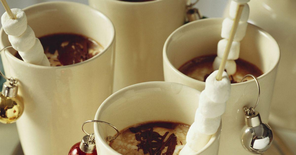 Heiße Schokolade mit Marshmellows | Recipe