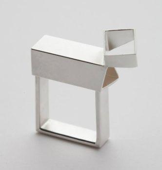Alma Geller, Large Square, ring