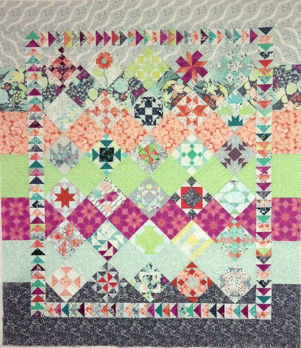Free Quilt Block Patterns, Moda Sampler Block Shuffle   Quilting ... : free quilt patterns moda - Adamdwight.com