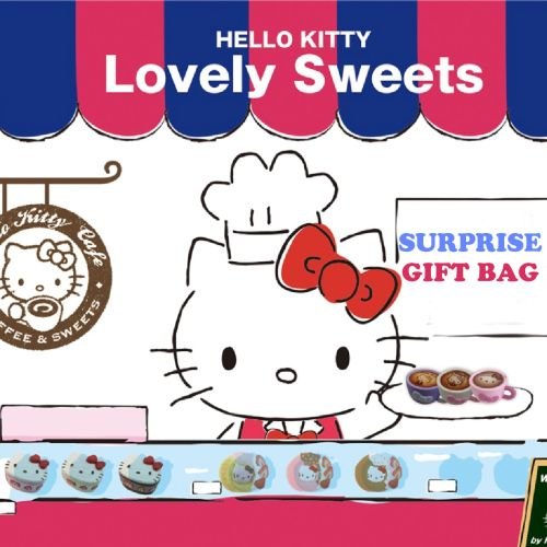 New Promotion Rare Nic Hello Kitty Lovely Sweets Gift Bag