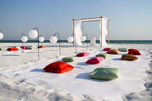 Decoración ceremonia de boda www.egovolo.com