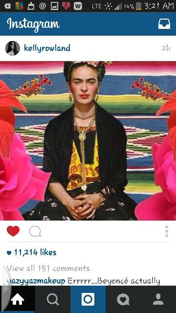 Studying Frida was a highlight,  in Art History.