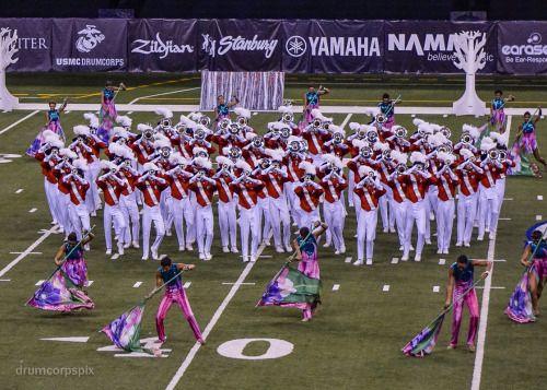 Santa Clara Vanguard 2016 Drum Corps Marching Band Color Guard