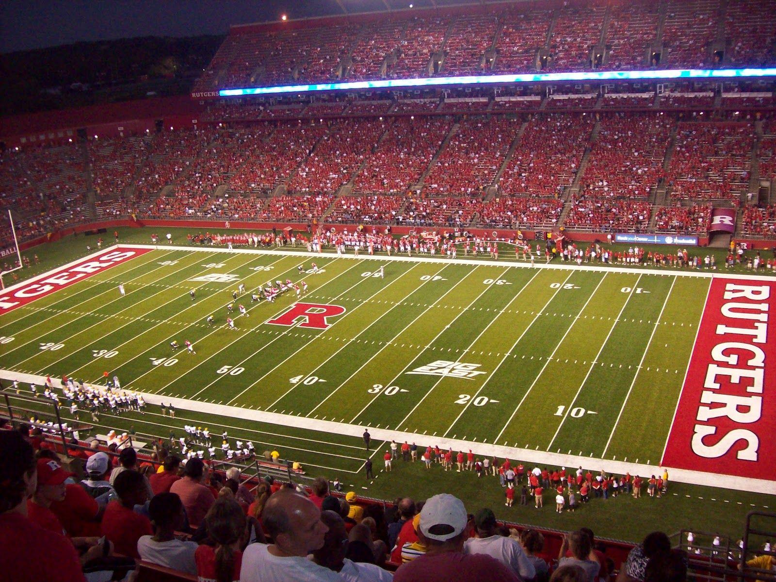 Rutgers Football Stadium Rutgers Football Football Stadiums Rutgers