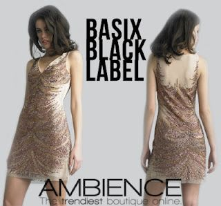 Basix Black Label Illusion dress, it's like being naked but better ;) From shopambience.com
