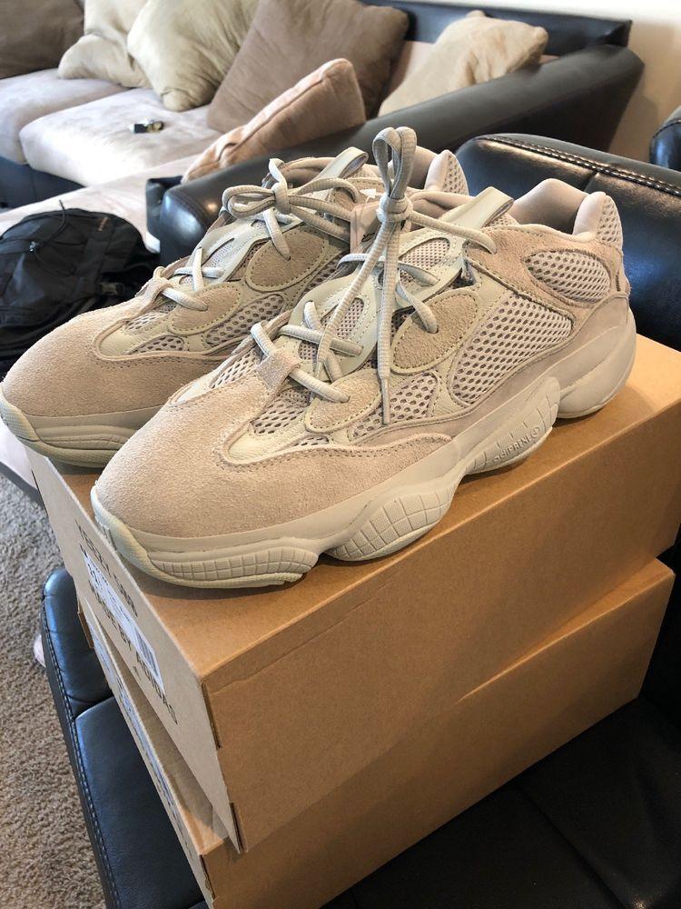 brand new 042b6 cd58a yeezy 500 salt Size 11.5 #fashion #clothing #shoes ...