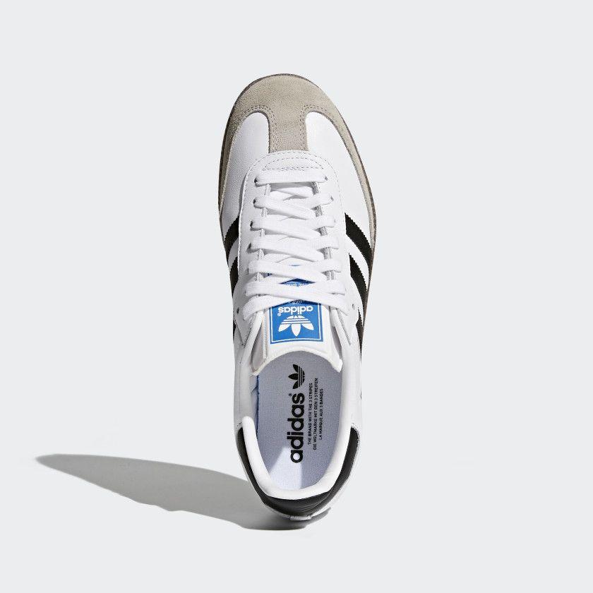 detailed look 4e906 d32d9 Samba OG Shoes Cloud White   Core Black   Clear Granite BZ0057