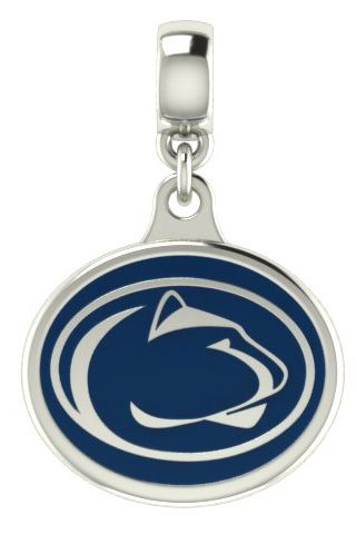 Penn State Nittany Lions Silver Enamel Dangle Charm Bead, $59.00
