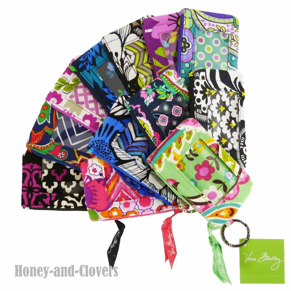 Vera Bradley - Zip ID Case Wallet ( Great Gift Card Holder ) - You ...